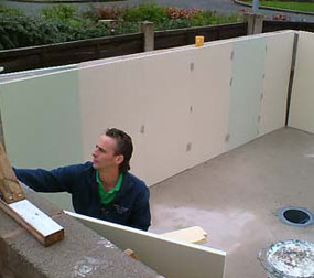 Grp Lining Services Koi Pond Fibreglassing Specialists Foam And Fiberglass
