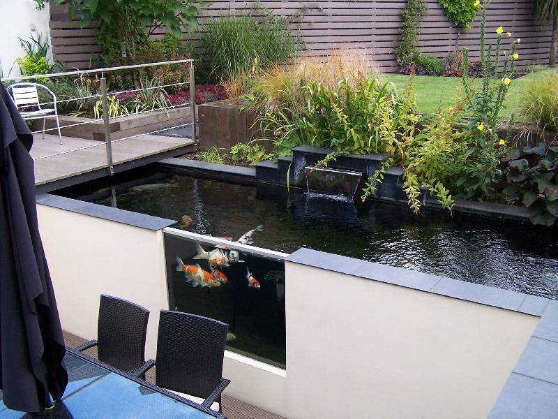 Grp lining services koi pond fibreglassing specialists for Contemporary koi pond design